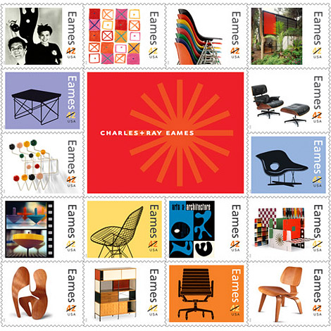 Eames commemorative stamps