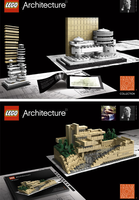 Frank Lloyd Wright LEGO set