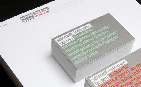 e-Types - Scmidt Hammer Lassen