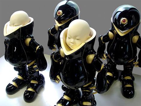 Hayashi Shigeki ceramic figures