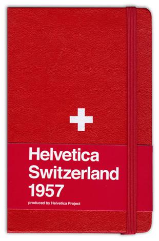 Helvetica Edition Moleskine