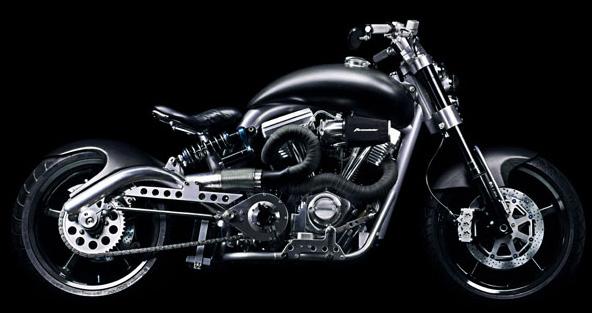 F131 Hellcat Combat Motorcycle