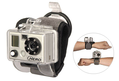 Digital waterproof wrist camera