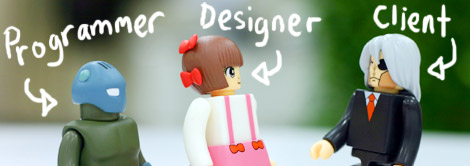 Programmer, Designer, Client