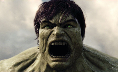 The not-so-Incredible Hulk… RARRR..!