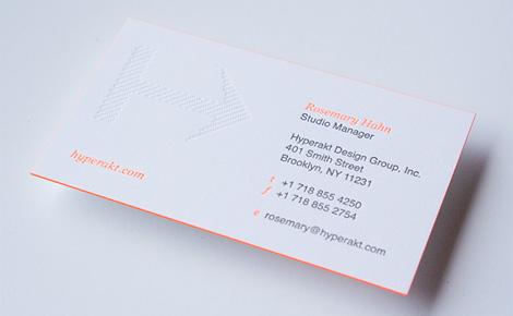Hyperakt business card