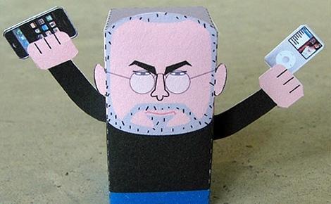 Steve Jobs toy