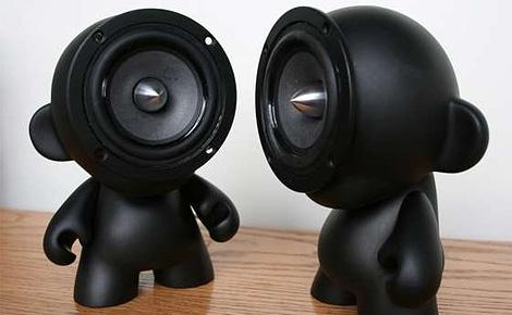 DIY Munny doll speakers