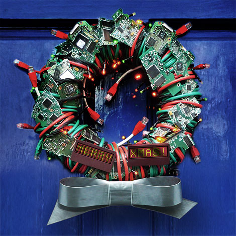 Netsight Christmas Wreath