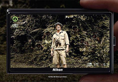 Nikon S60 ad campaign