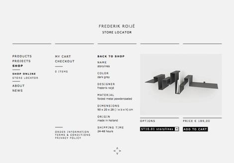 Frederik Roijé website