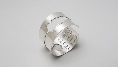 Waveform Series sound jewellery