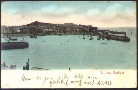 A postcard from St Ives