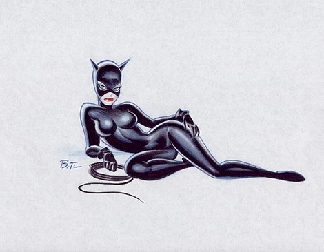Bruce Timm: Catwoman