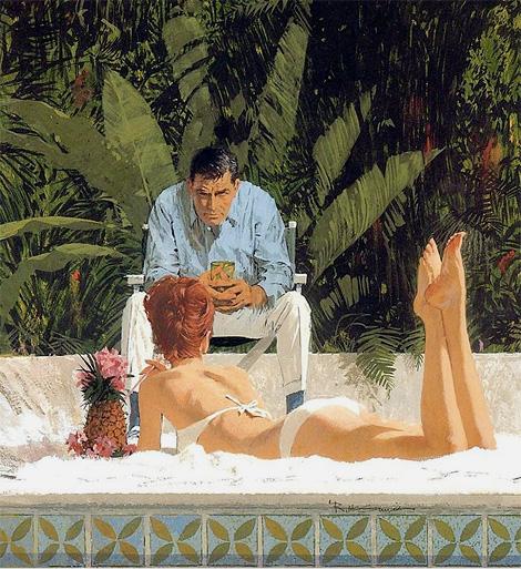 Robert McGinnis: Poolside