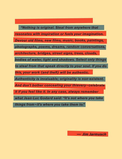 "Jim Jarmusch: ""Nothing is orginal…"""