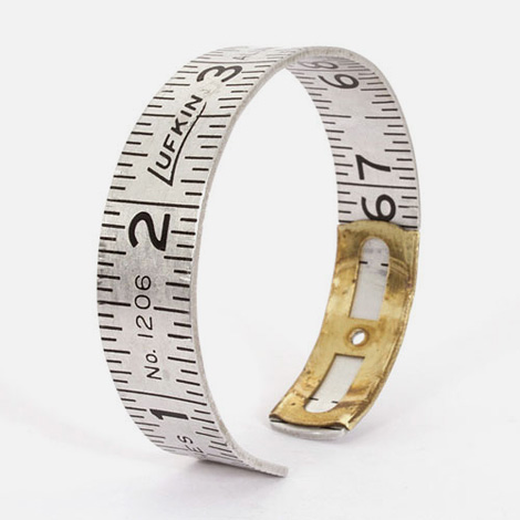 Vintage Lufkin ruler bangle